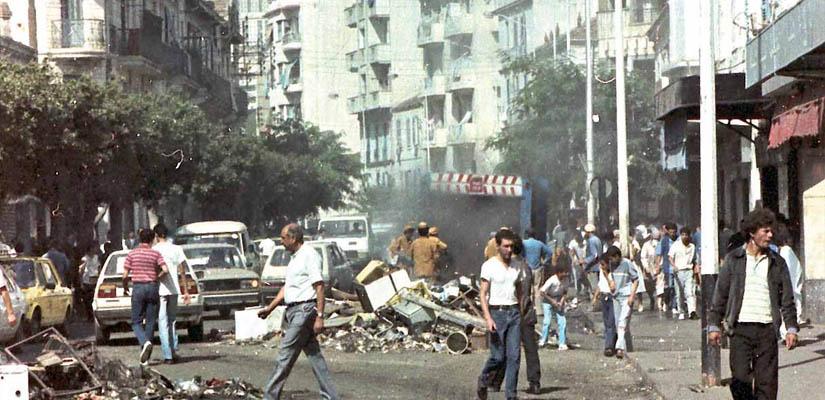 Les évènement d'octobre 1988