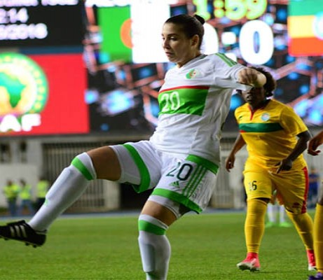 Women's Football: Sidhoum's Algerian dream comes true